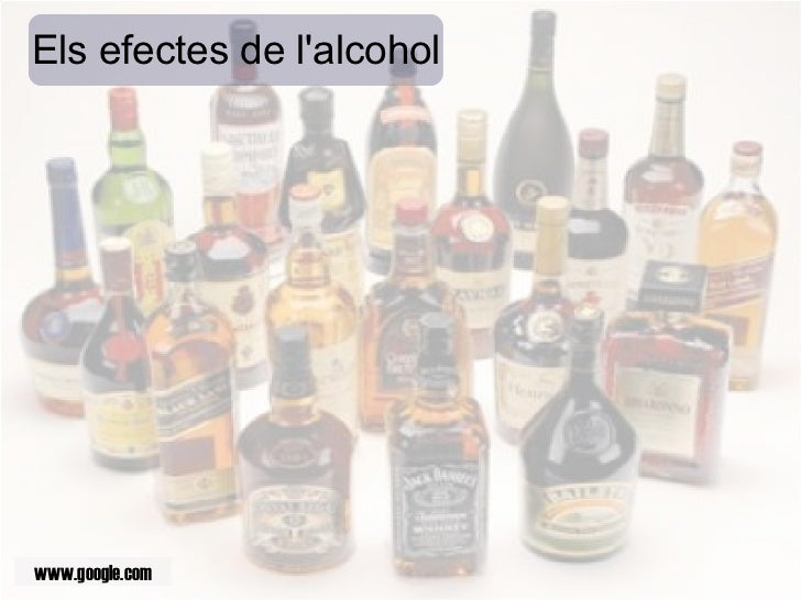 Els efectes de l'alcohol www.google.com