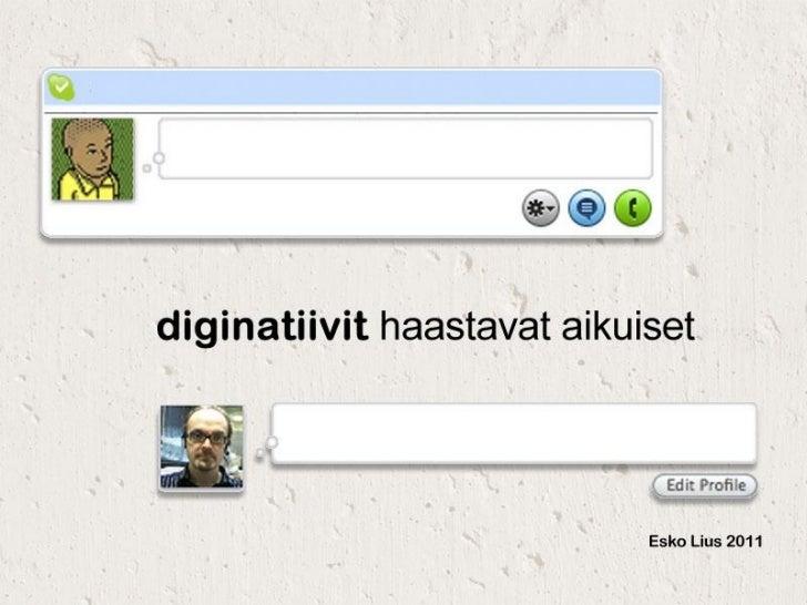 Teknologian ja digitaalisen kulttuurin muutosVideolinkki: http://vimeo.com/23903009