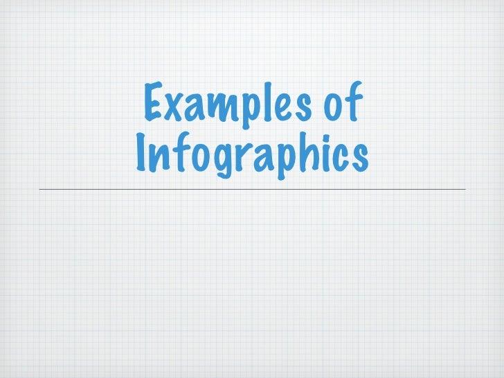 Inforgraphics examples