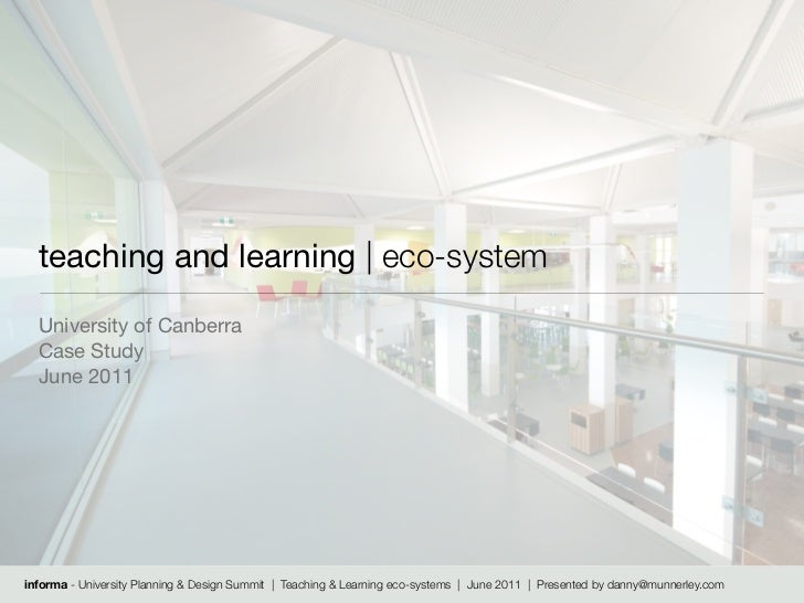 Teaching & Learning eco-system