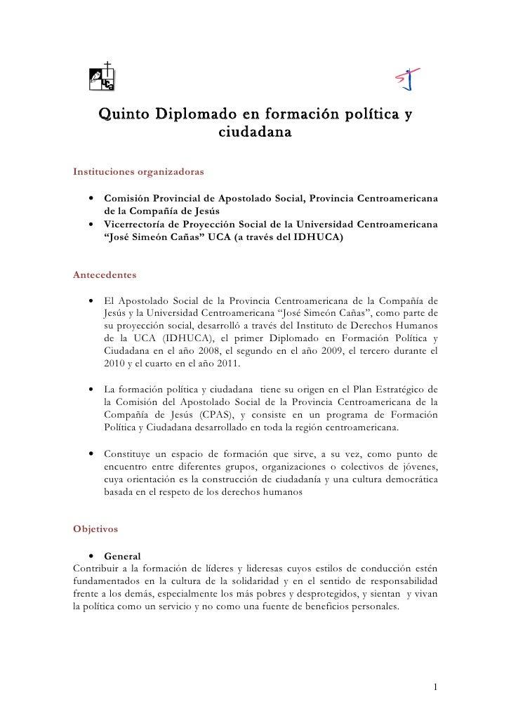 Información general v diplomado