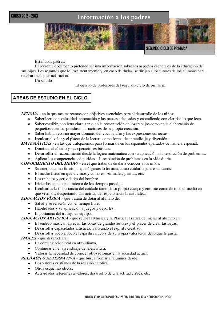 Informacion a los padres 2012 13 en times y en el del cole copia