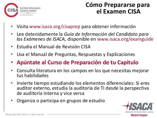CISA Exam Resources - Information Assurance - ISACA