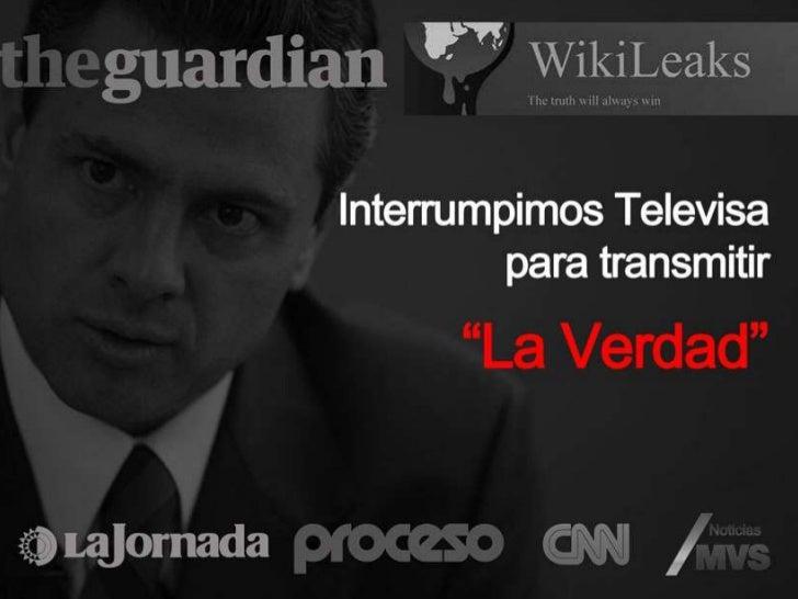 """EPN vs. AMLO Interrumpimos Televisa para Transmitir """"La Verdad"""" 26 de Junio"""
