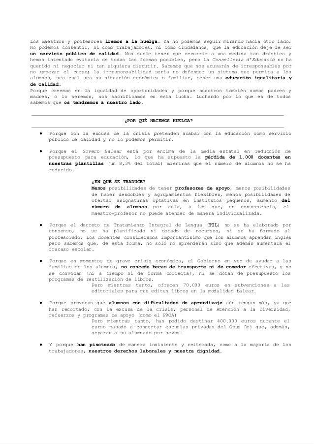 Información familias castellano