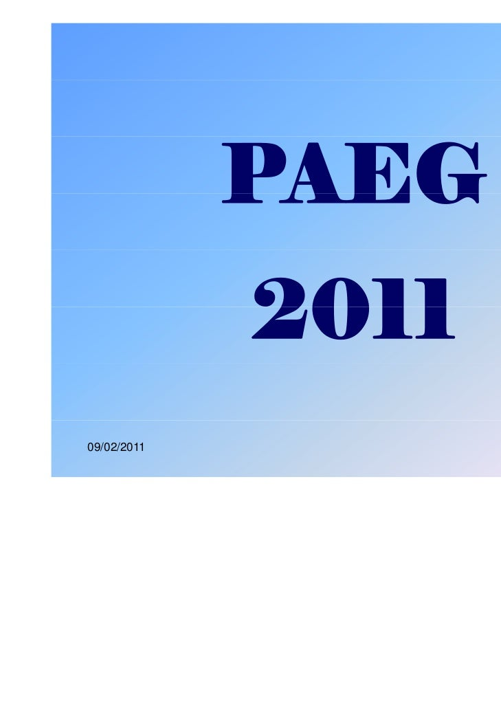 PAEG             201109/02/2011