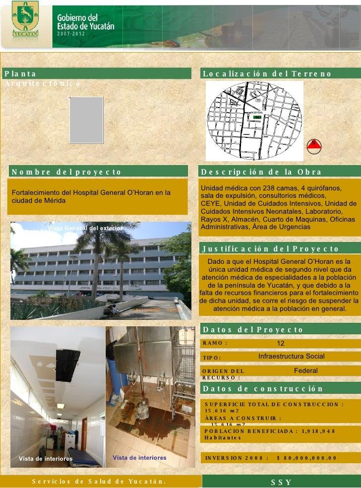 SUPERFICIE TOTAL DE CONSTRUCCION :  15,616 m2  SSY 12 Infraestructura Social ÀREAS A CONSTRUIR :  15,616,m2 RAMO : TIPO: I...
