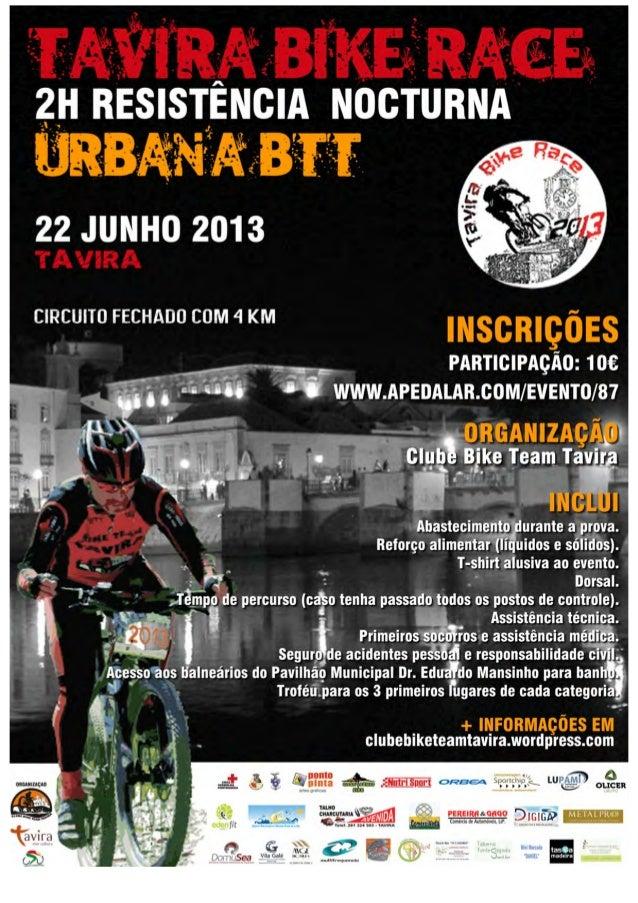 2H Resistência Nocturna Urbana BTT