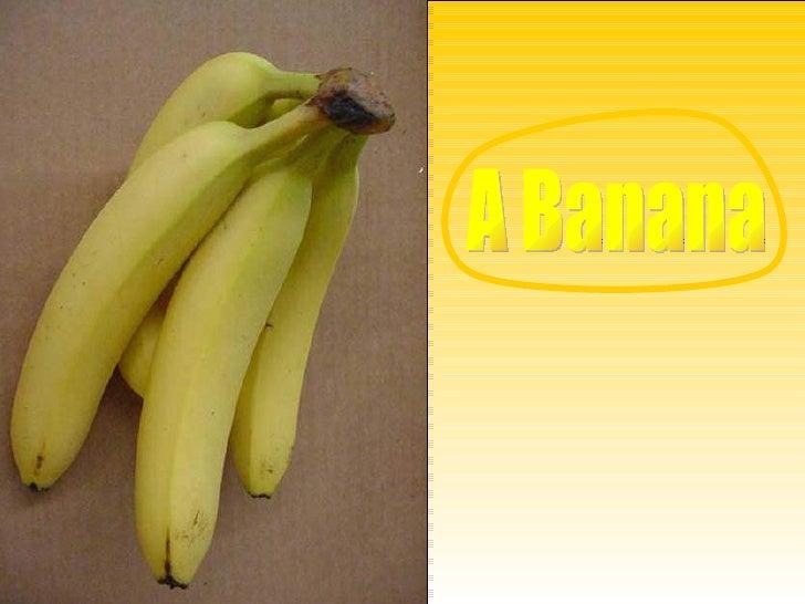 Informações sobre a Banana