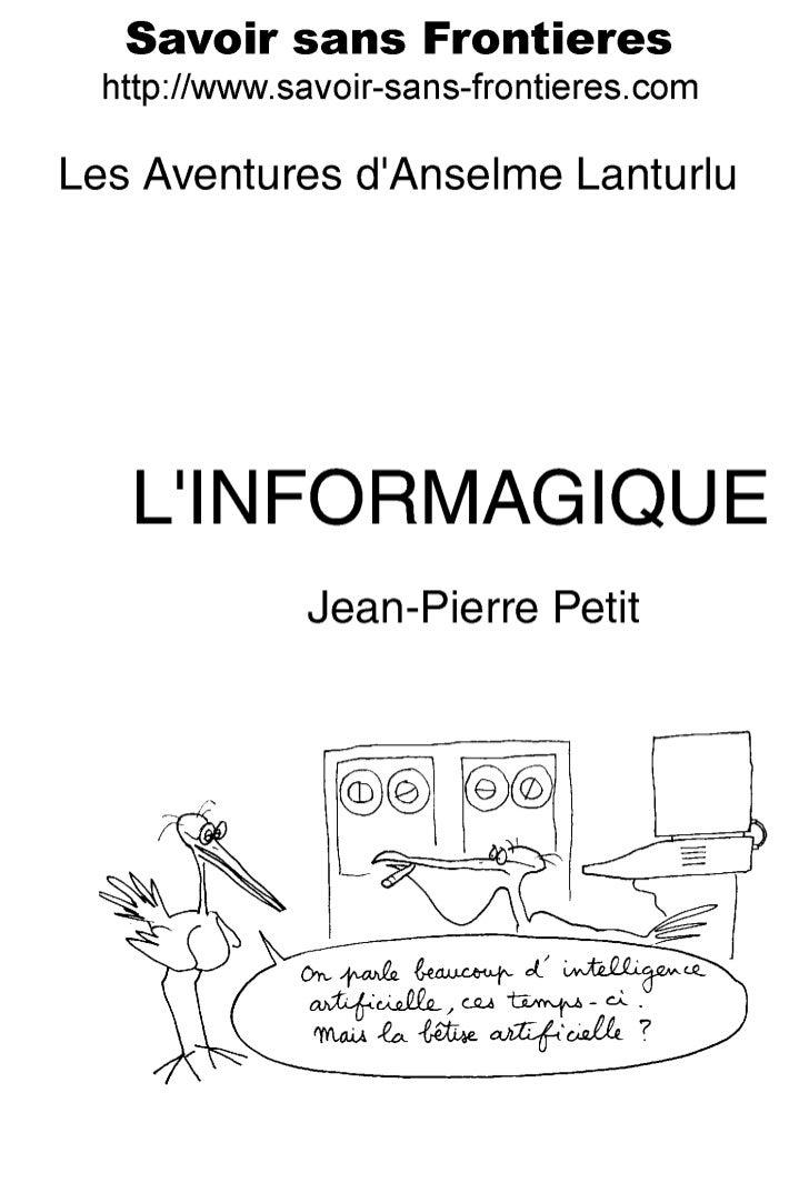 Savoir sans Frontières                                  Association Loi de 1901                       Jean-Pierre Petit, P...