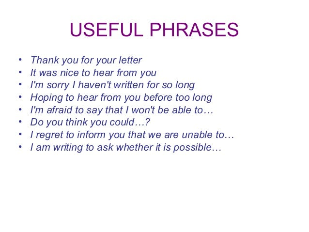 letter writing topics