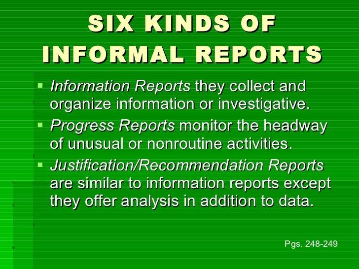 how to write an informal report Shelternetbccom.