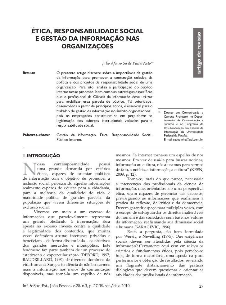 Informação e sociedade-_estudos-20(3)2010-etica,_responsabilidade_social_e_gestao_da_informacao_nas_organizacoes