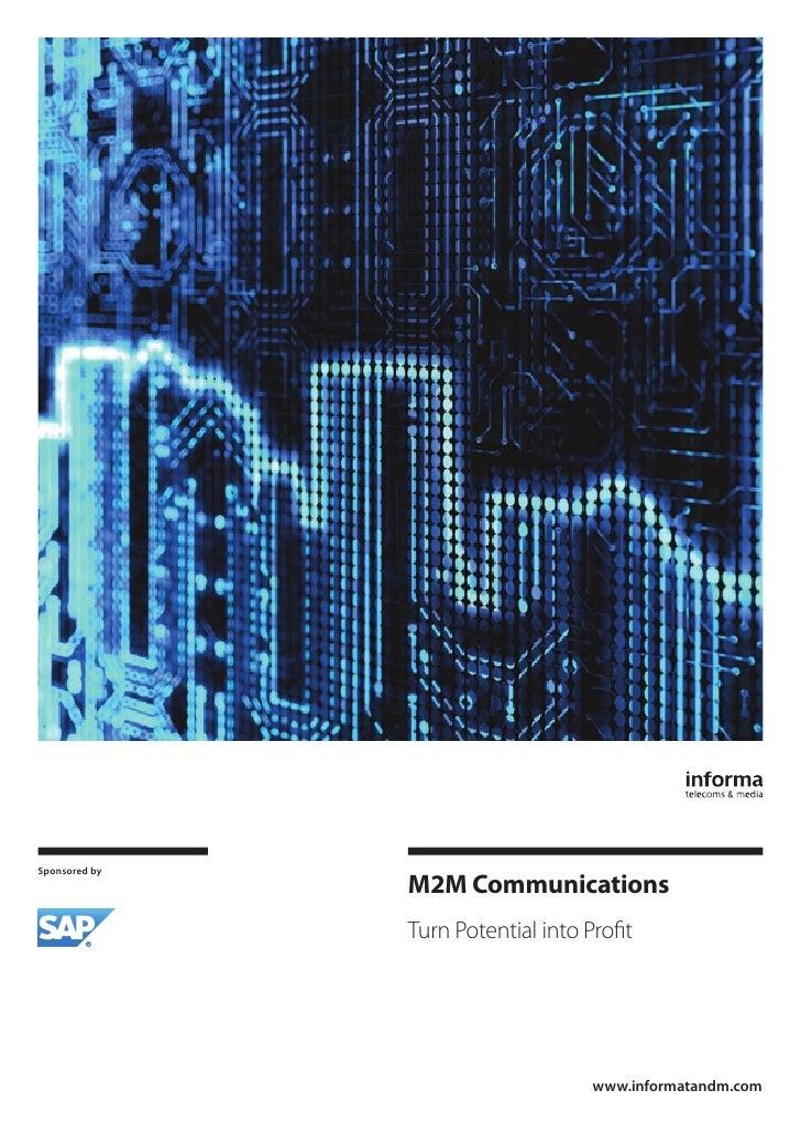 Informa SAP M2M Communications white paper