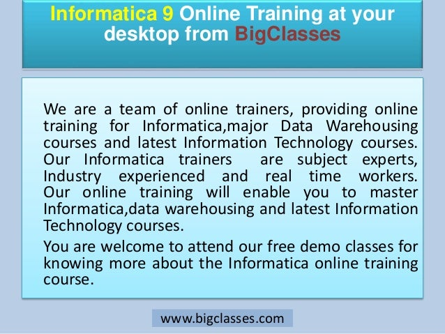 Informatica online training | Informatica training online  | Informatica training | Informatica online  |