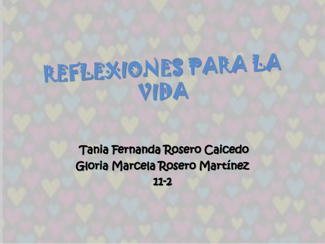 Tania Fernanda Rosero CaicedoGloria Marcela Rosero Martínez              11-2
