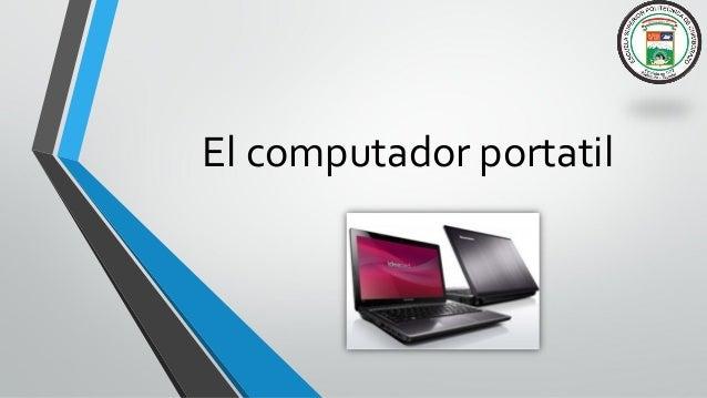 El computador portatil