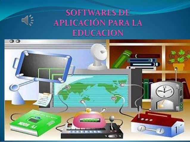 Se considera Software Educativo al conjuntode recursos informáticos diseñados con laintención de ser utilizados en el cont...