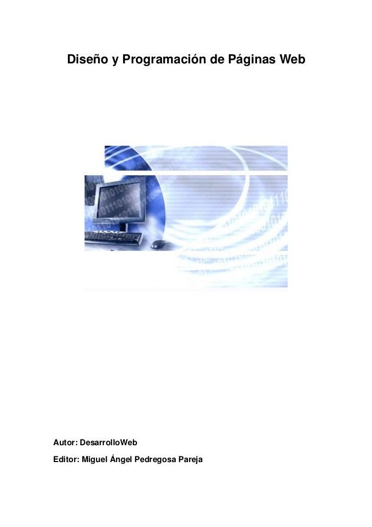 Informatica diseno y programacion de paginas web