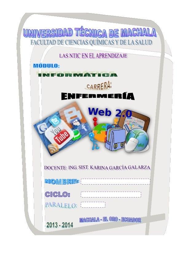 UNIVERSIDAD TÉCNICA DE MACHALA FACULTAD DE CIENCIAS QUÍMICAS Y DE LA SALUD  CARRERA DE ENFERMERÍA  PRIMERA UNIDAD ARQUITEC...