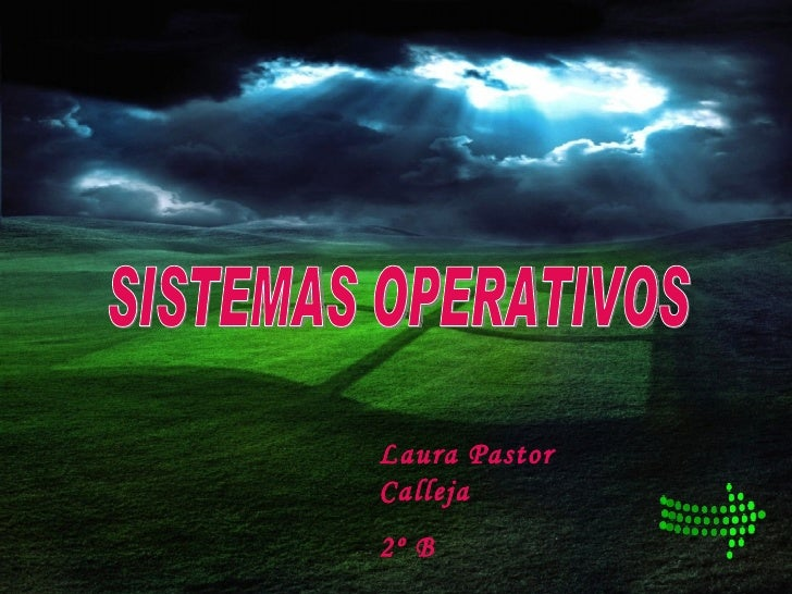 SISTEMAS OPERATIVOS Laura Pastor Calleja 2º B