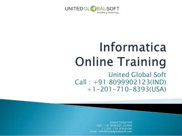 Informatica online training