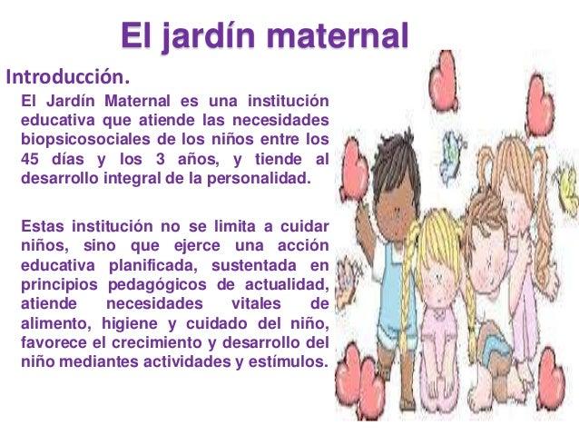 El jardin maternal for Actividades para jardin maternal sala de 2