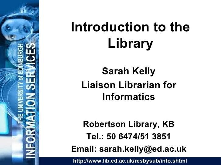 Informatics UG1 2006-7