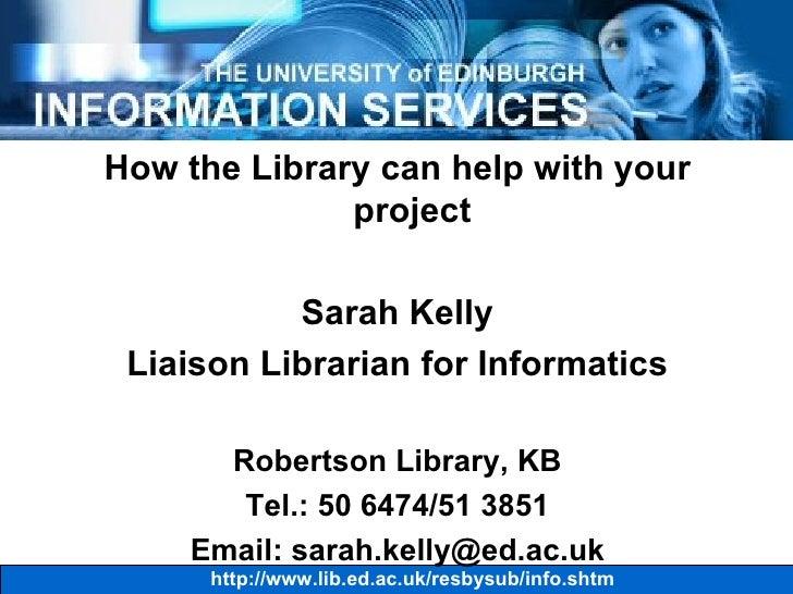 Informatics UG4 2006-7