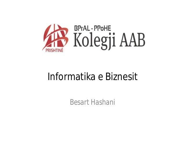 Informatika e biznesit java5