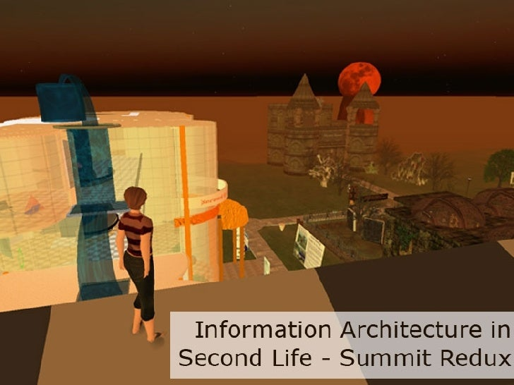 Information Architecture in Second Life
