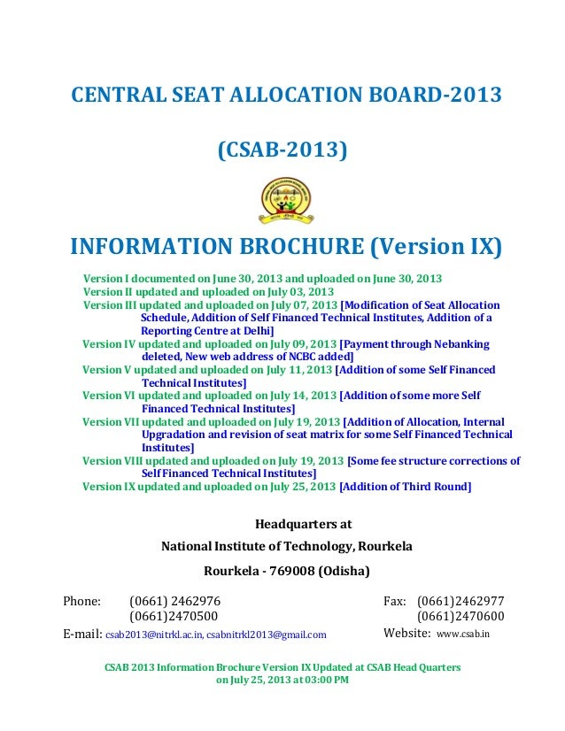 Information brochure ix (25.07.2013) (1)