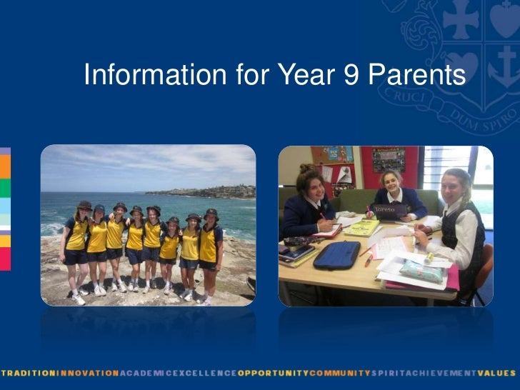 Information for Year 9 Parents
