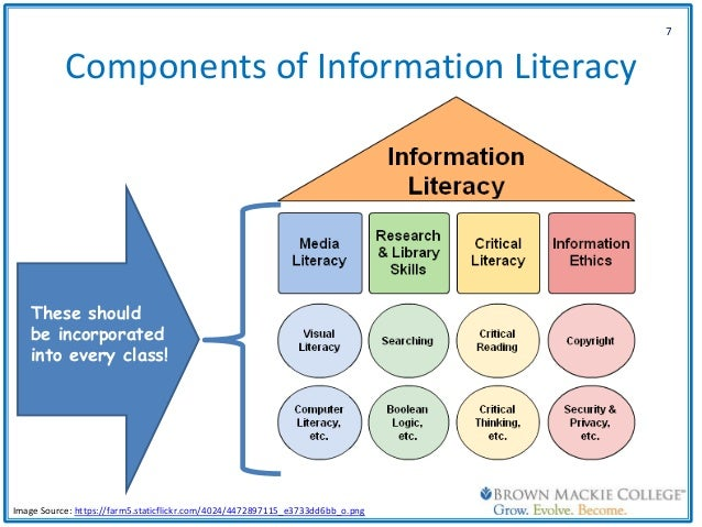 information literacy 2 essay Information literacy and communication skills that are required in our day to day activities to derive, analyze, evaluate and use information are currently known as information literacy.