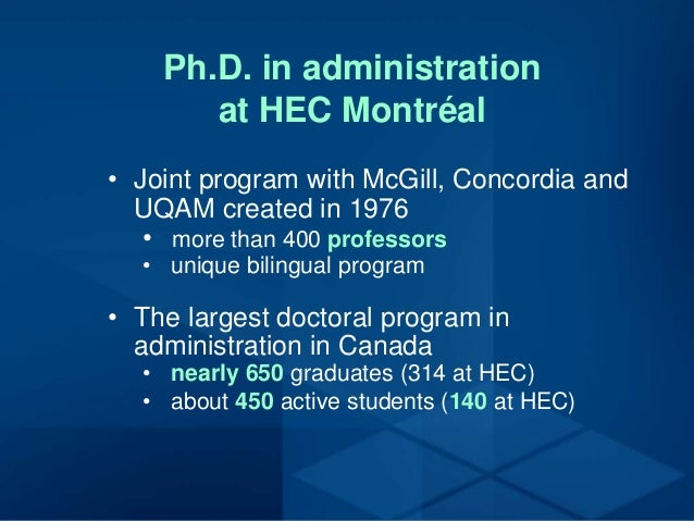 Hec online phd thesis