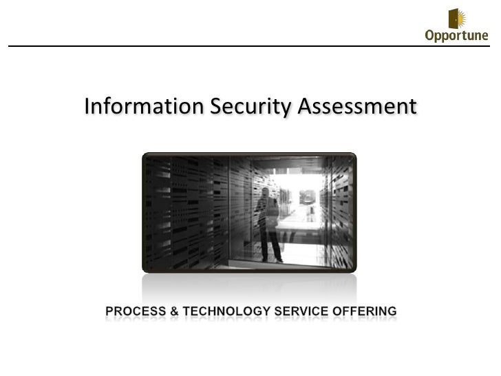 Information Security Assessment Offering