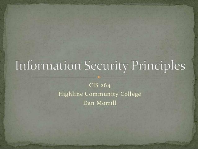 Information security principles