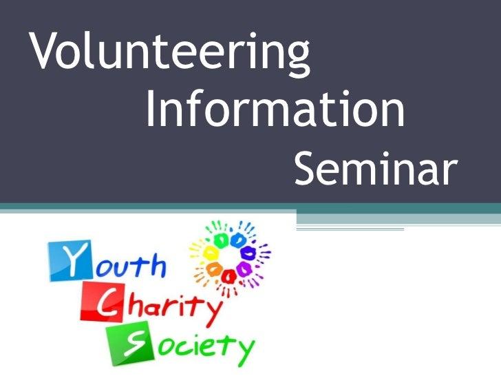 Information Seminar  Semester2