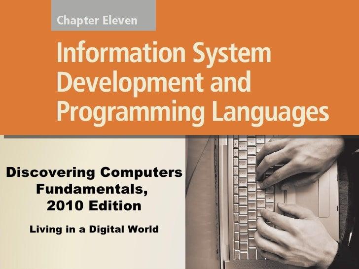 Information system development & programming language