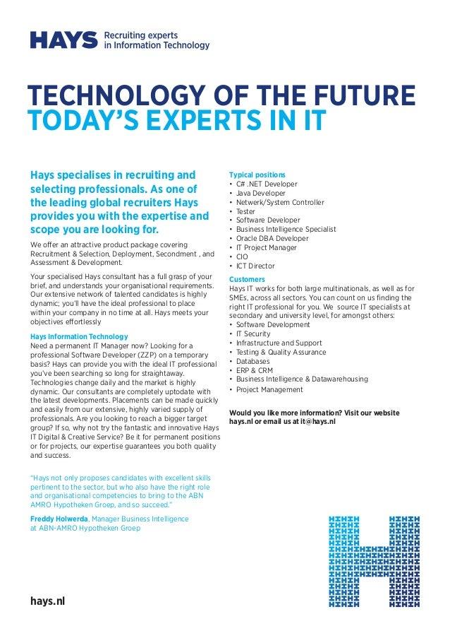 Hays Information technology