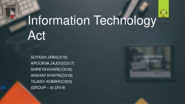 information technology act and the rise A very short history of information technology (it)  contributions of  technological inventions and advances to the industry's key growth driver:.