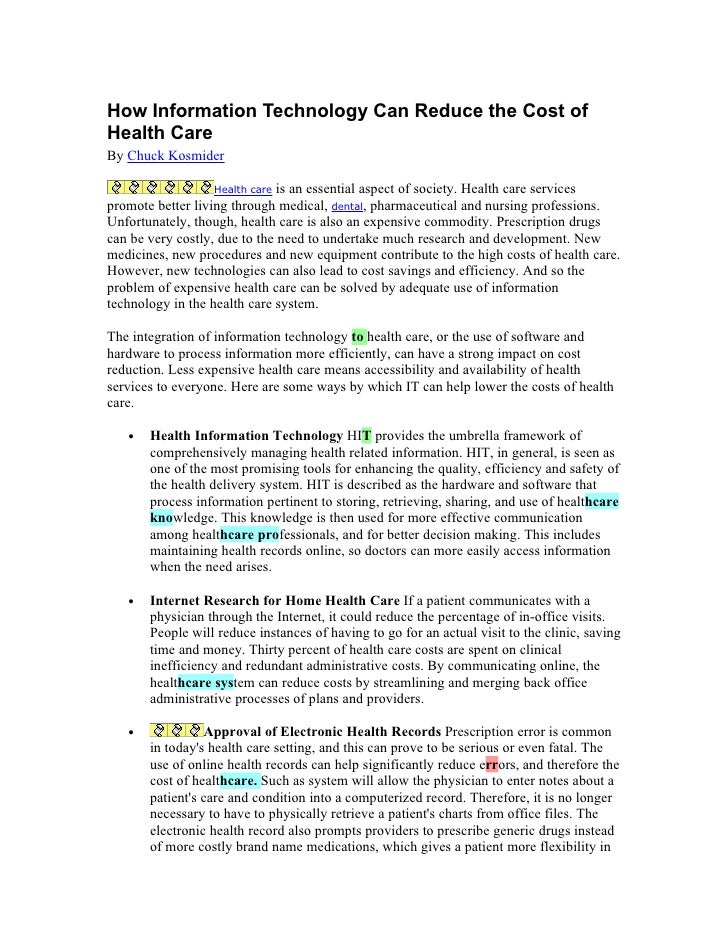 Information Technology Articles