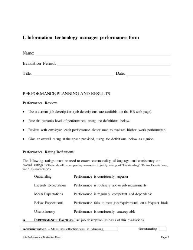 information technology manager job description pdf