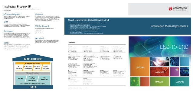 Information technology services from datamatics global services