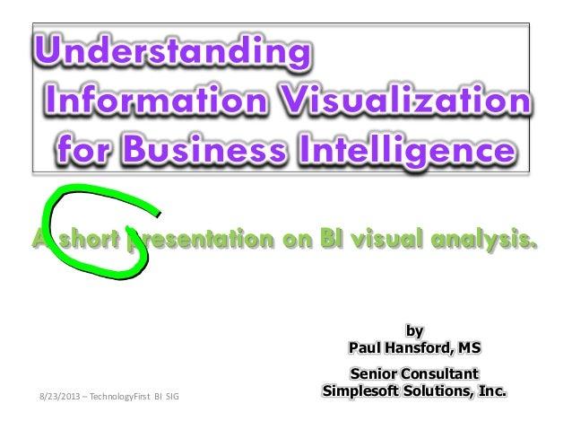 Information Visualization 2013