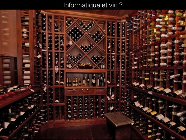 Informatique et vin ?