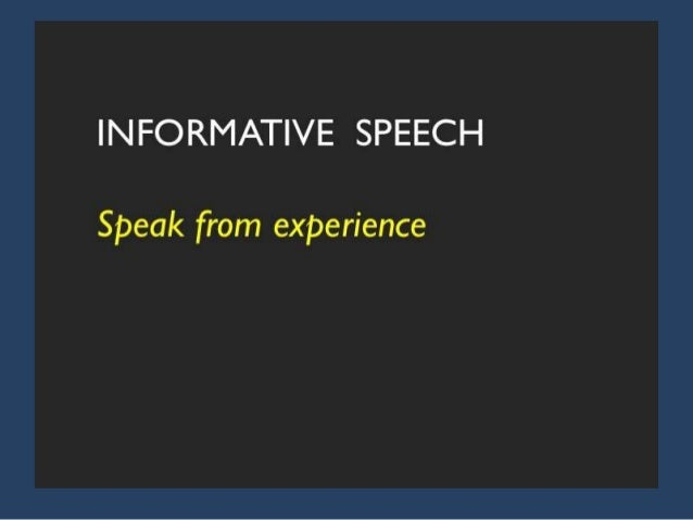 developing a speech thesis