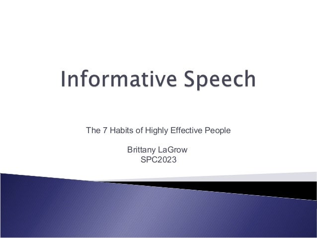 The 7 Habits of Highly Effective People           Brittany LaGrow               SPC2023