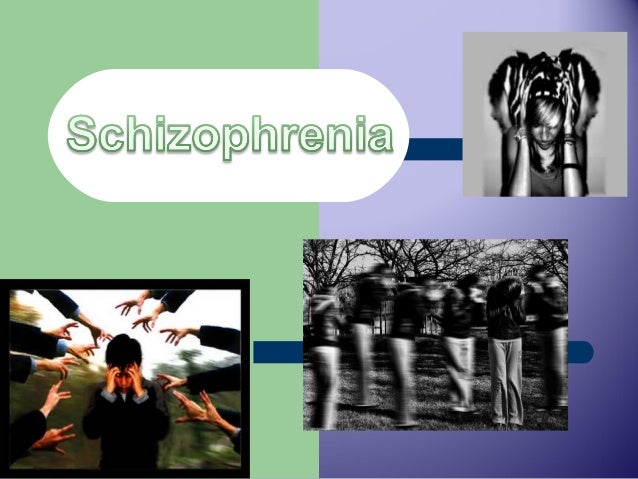 Do you know someone with Schizophrenia?  According to the National Institute of Health. Schizophrenia is a chronic, sever...