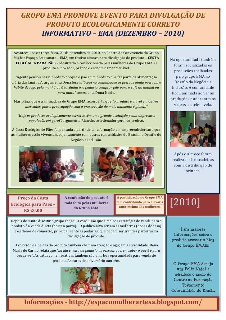 INFORMATIVO - 2010 (EMA)